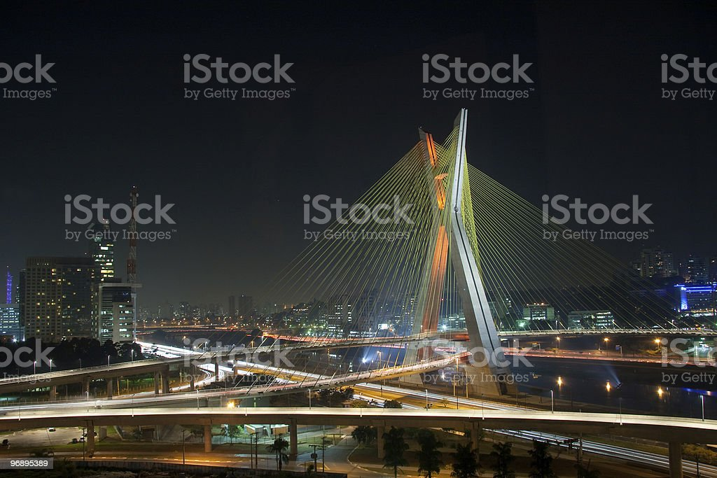 Colouful Bridge royalty-free stock photo