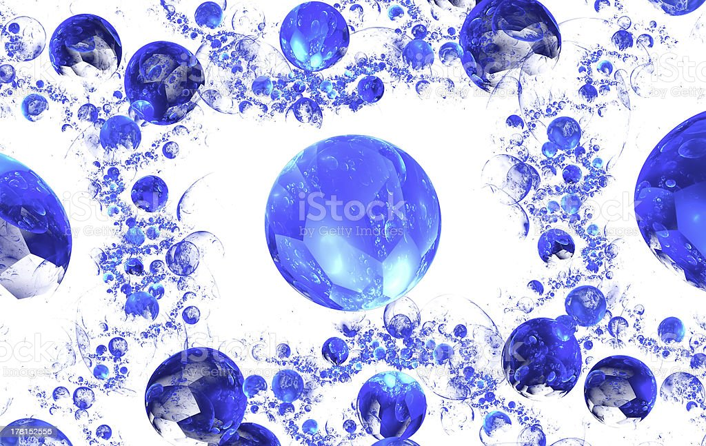 Colour abstract art balls  background. royalty-free stock photo