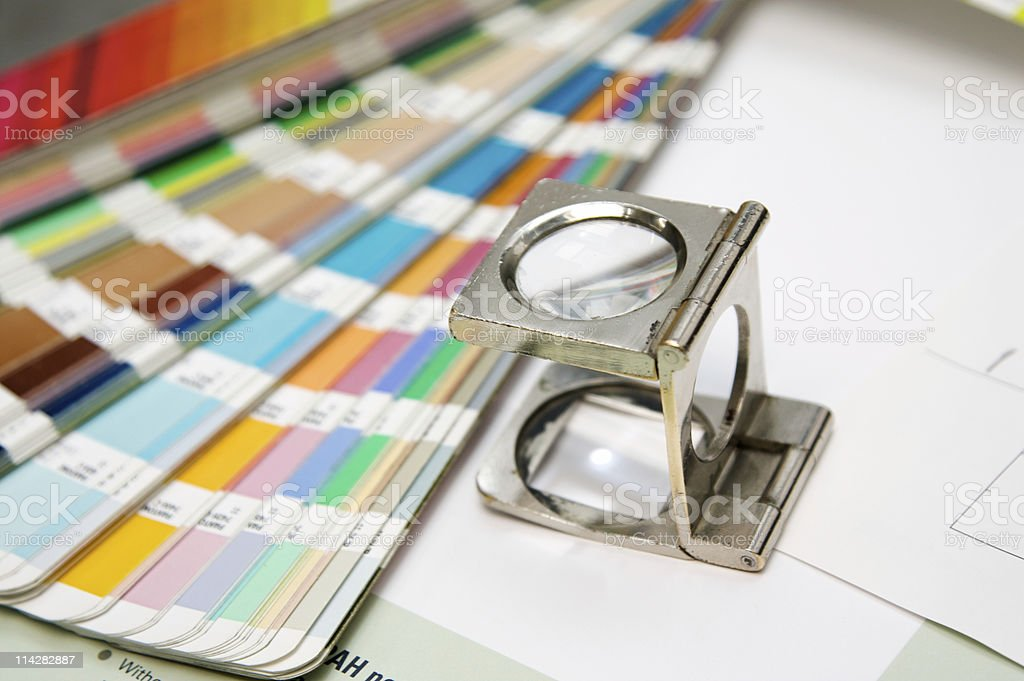 Colour Check... royalty-free stock photo