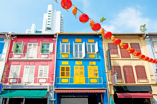 Colour collection, Temple Street, Chinatown, Outram, Singapore, Malaysia