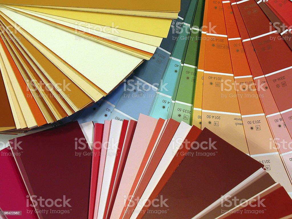 Colour design royalty-free stock photo