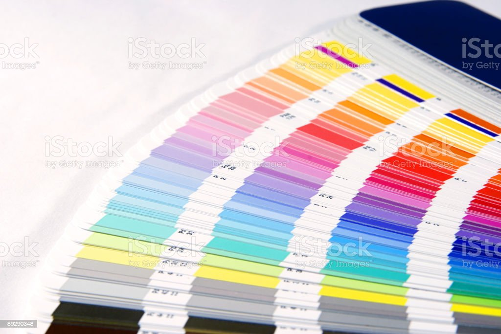 Colour Guide Pantone Swatch Book Stock Photo & More Pictures of