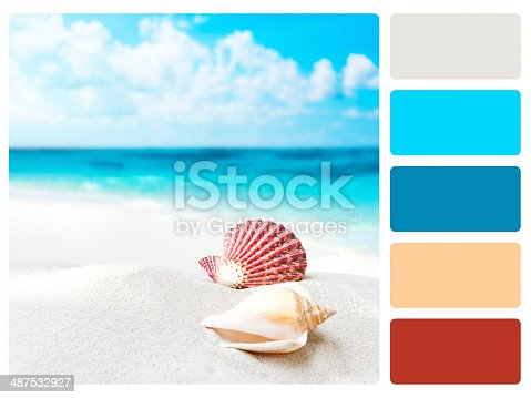 istock Colour palette swatch. 487532927