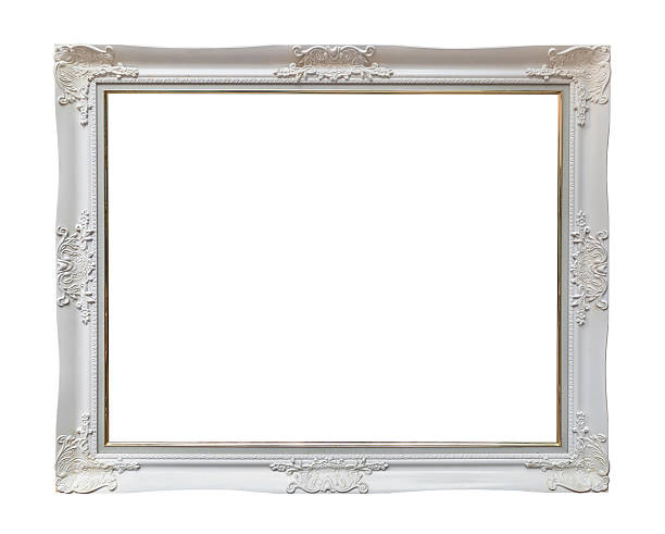 colour picture frame stock photo