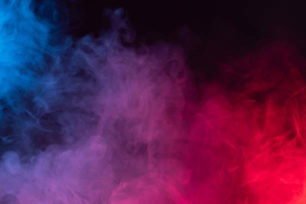 컬러 연기 배경 공포 할로윈 미스터리 매직 - 색상 이미지 뉴스 사진 이미지