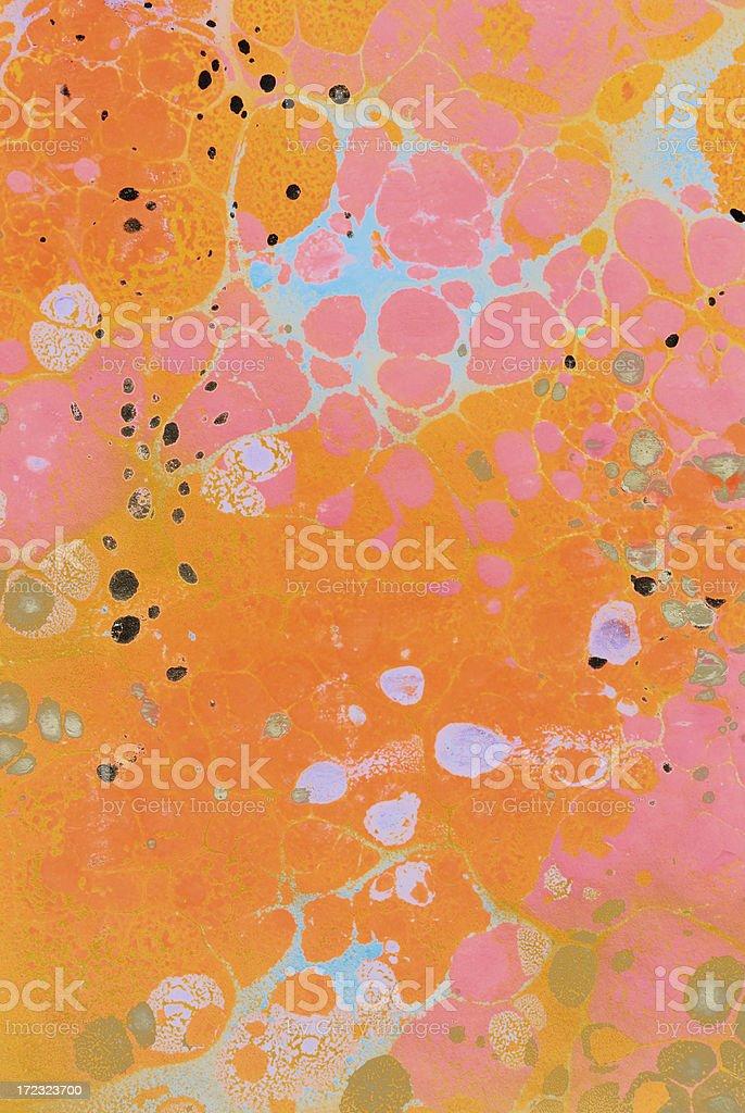 Colour splashes royalty-free stock photo