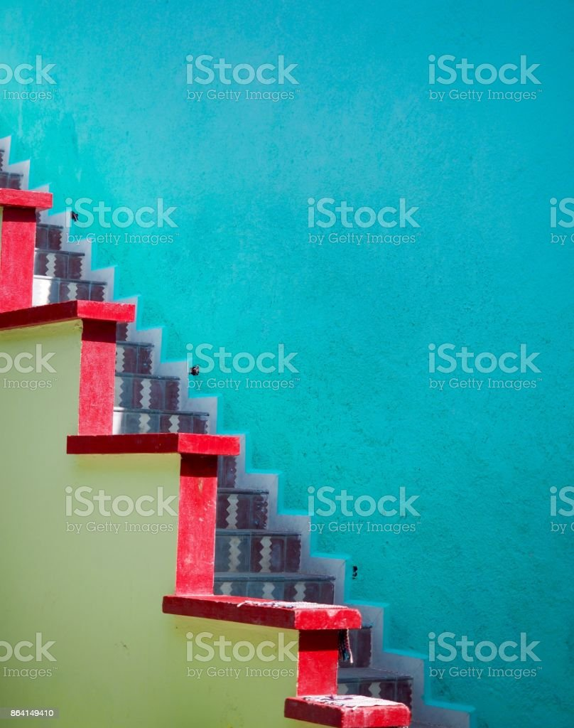 Colour Steps royalty-free stock photo