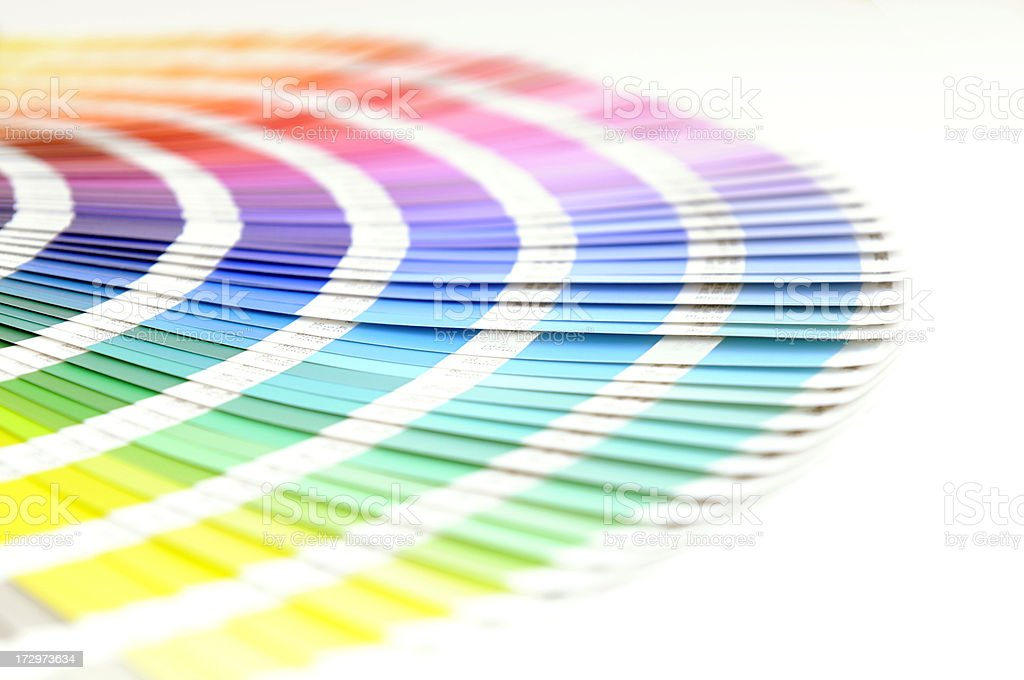 Colour System Sampler royalty-free stock photo