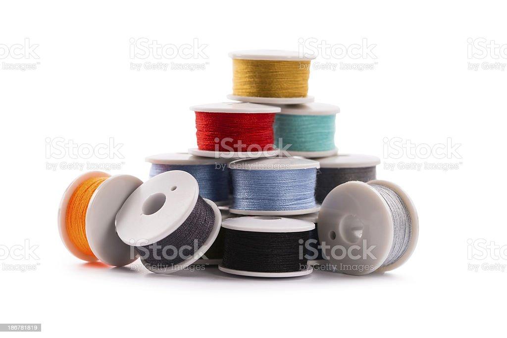 colour threads royalty-free stock photo