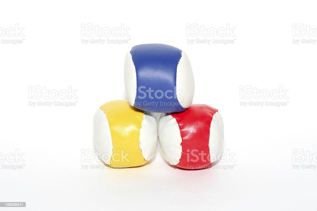 Coloured balls royalty-free stock photo