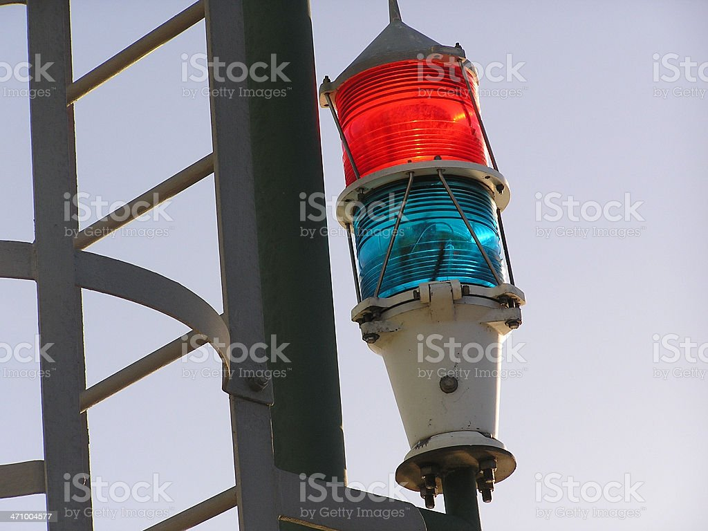 coloured light royalty-free stock photo