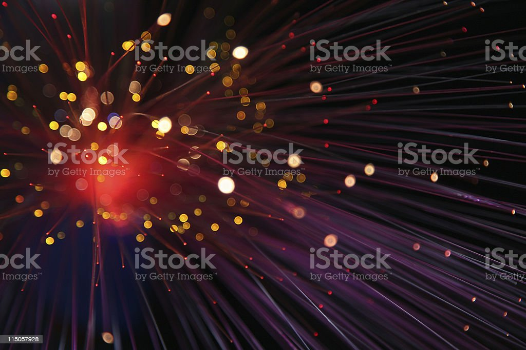 coloured lights royalty-free stock photo