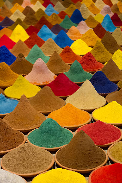 Farbiges Pulver – Foto