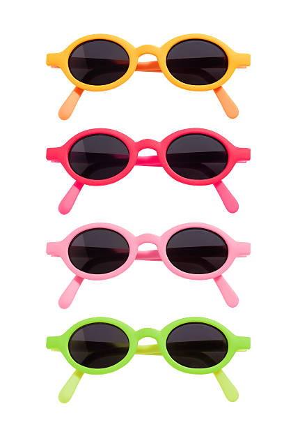 Gafas de sol de color - foto de stock