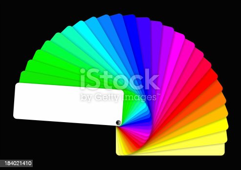 istock coloured swatches book 184021410