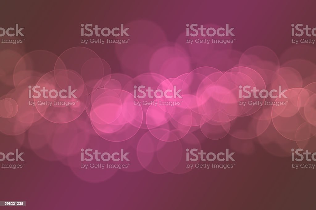 Colourful abstract bokeh design on a black background foto royalty-free