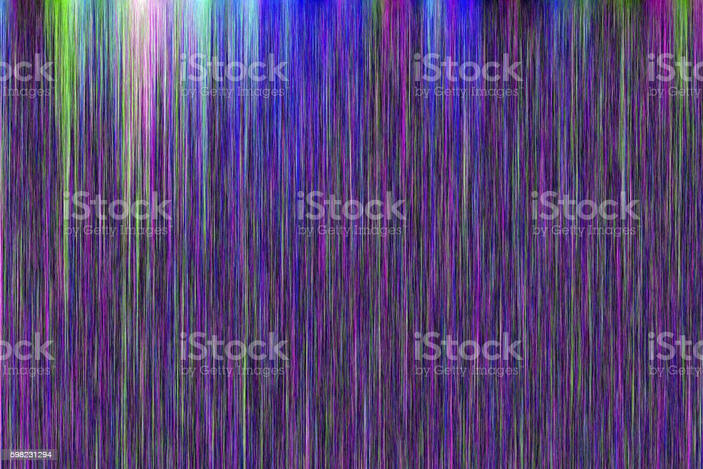 Colourful abstract powder explosion on a black background foto royalty-free
