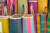 Colourful basket 2