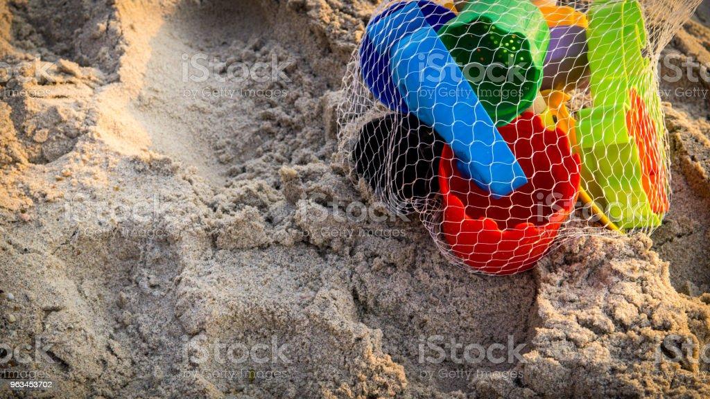 plaj renkli plaj oyuncakları - Royalty-free Aktivite Stok görsel