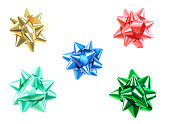 istock Colourful bows 183240819