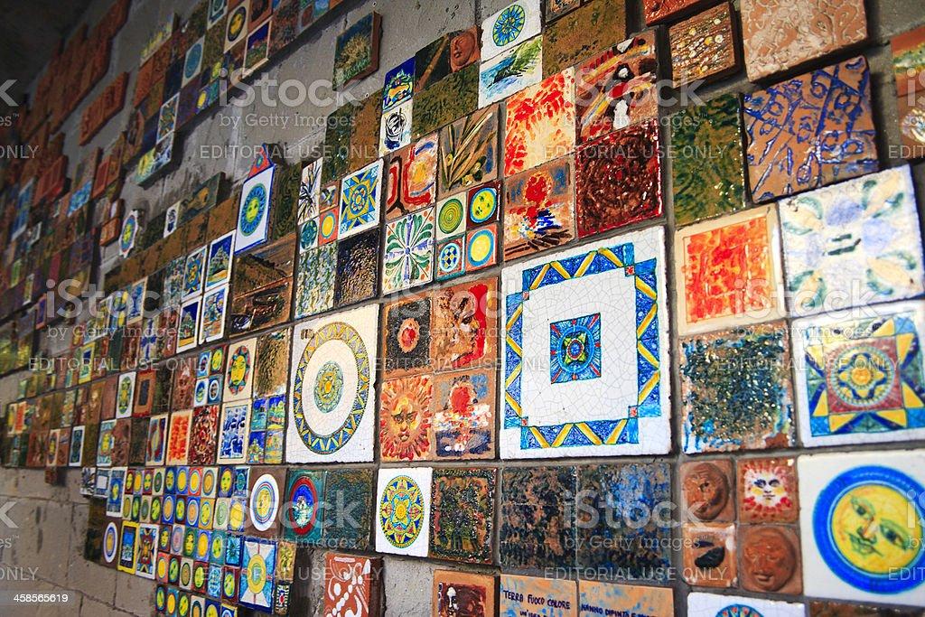 Colorate piastrelle in ceramica per pareti riomaggiore cinque