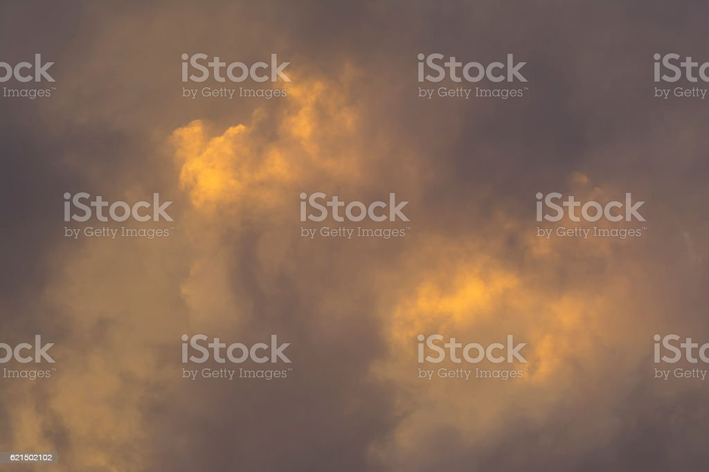 Colourful Cloud Formations at Sunset, South Australia foto stock royalty-free