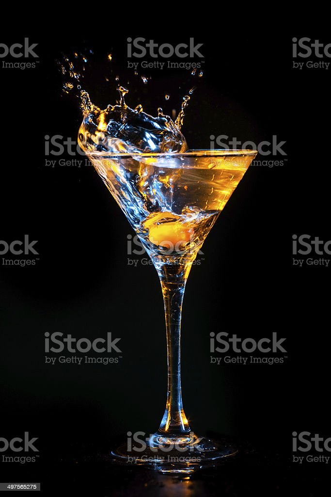 colourful cocktail stock photo