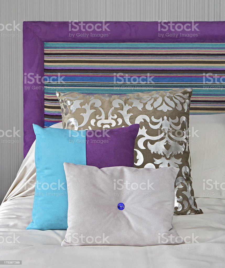 colourful cushions royalty-free stock photo