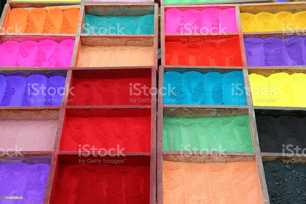 Colourful dye royalty-free stock photo
