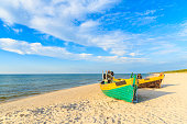 Polish part of Baltic Sea coast has most beautiful sandy beaches among all countries with access to this body of water.