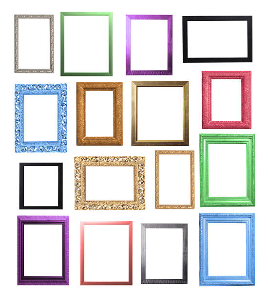 0f37bb3481 Colourful Frame Selection stock photo
