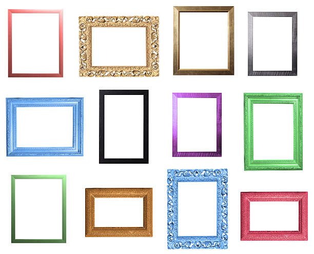 Colourful Frames Selection stock photo