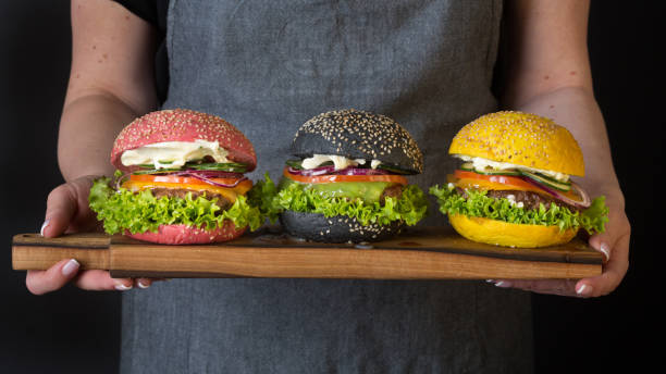 Bunte Hamburger – Foto