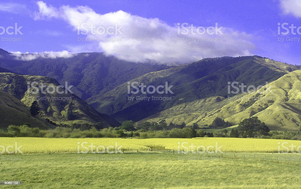 colourful landscape royalty-free stock photo