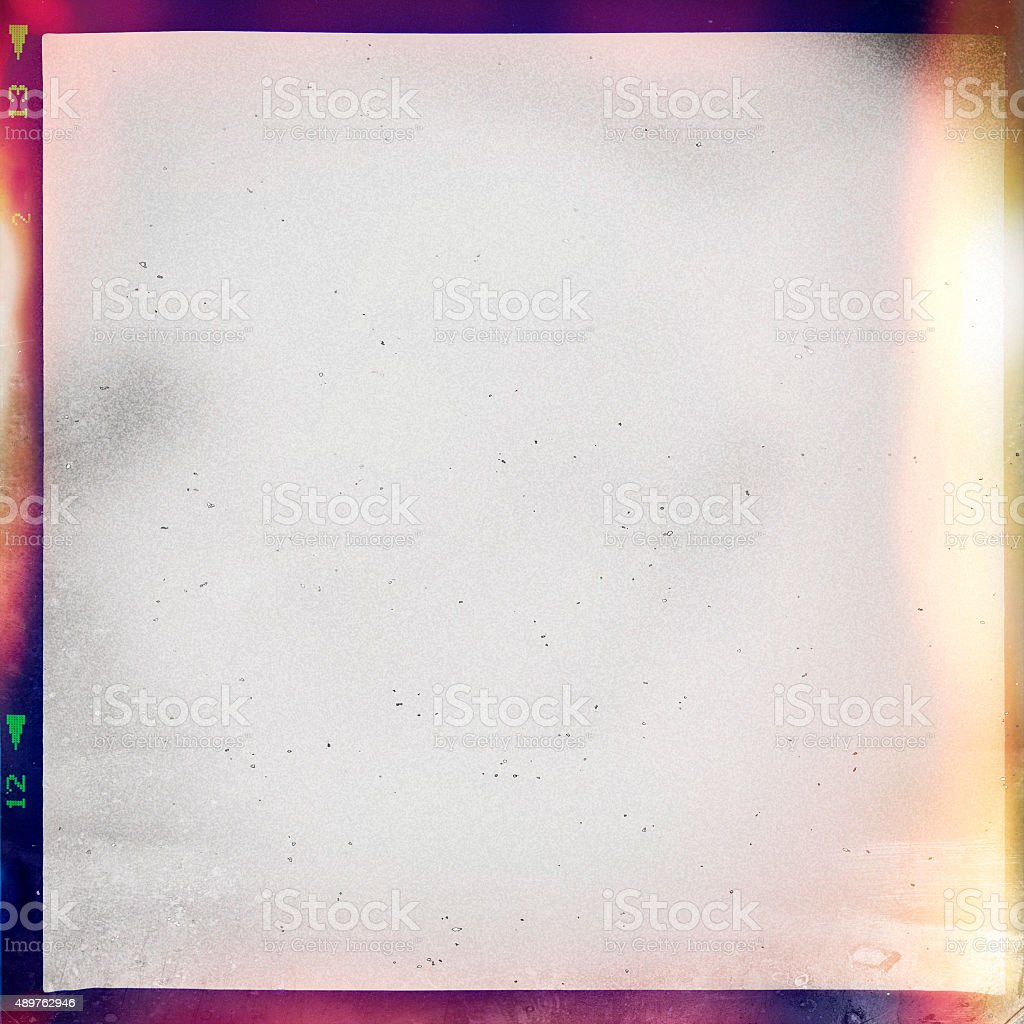 colourful medium format film background stock photo