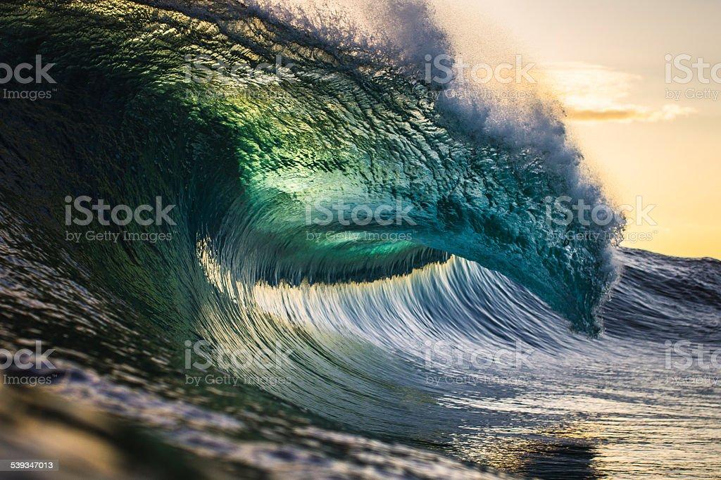 Colourful Ocean Power stock photo