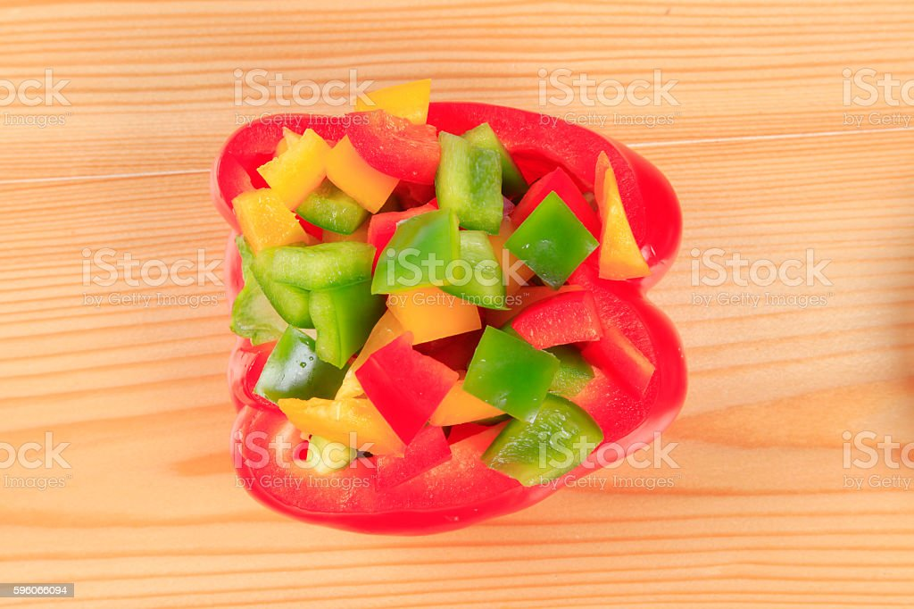 Colourful pepper royalty-free stock photo
