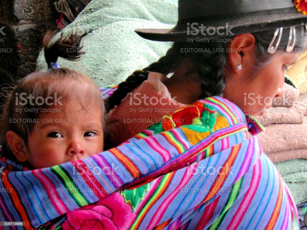 Colourful Portrait stock photo