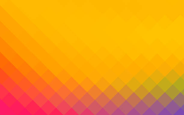 Colourful rhombus abstract backgrounds stock photo