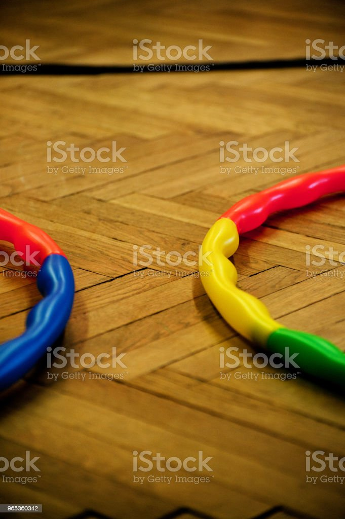 Colourful Rings royalty-free stock photo