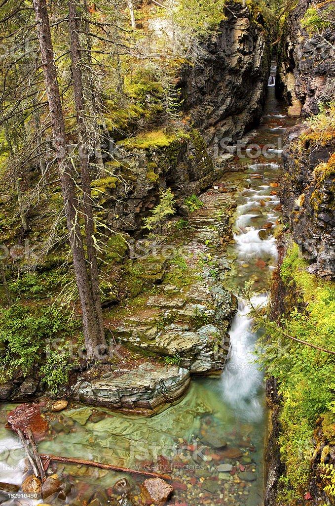 colourful Sunrift Gorge royalty-free stock photo