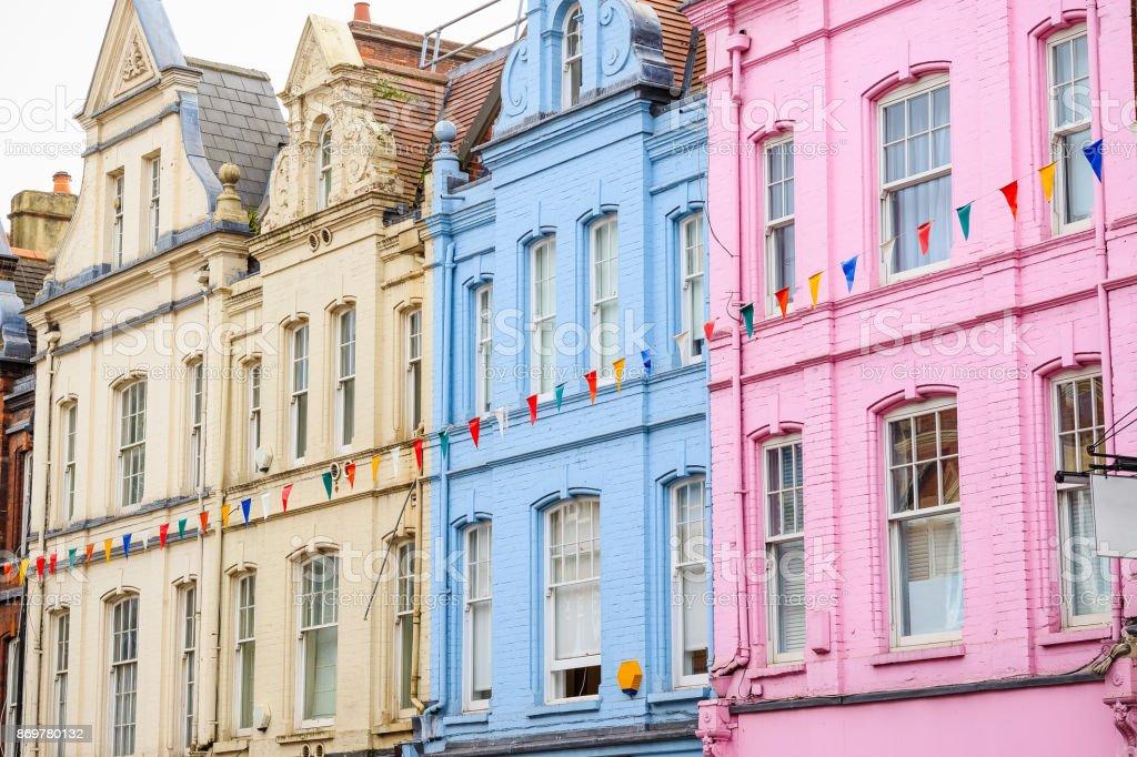 Colorido En Terrazas Casas En Hampstead De Londres Foto De
