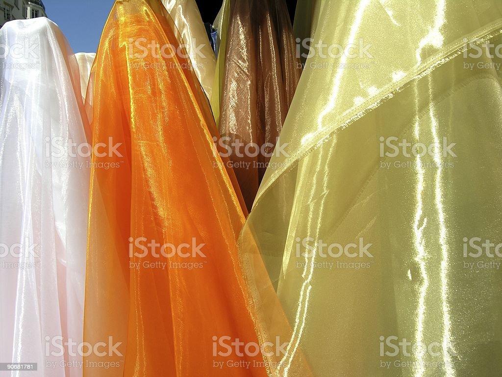 Colourful Textile royalty-free stock photo
