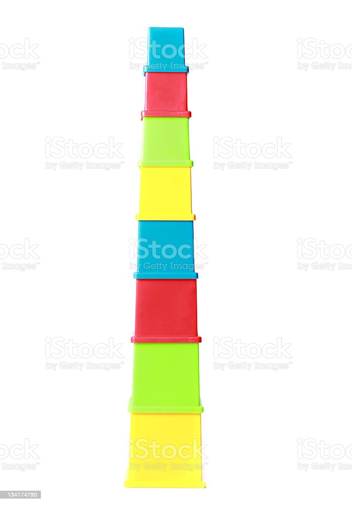 Colourful Tower royalty-free stock photo