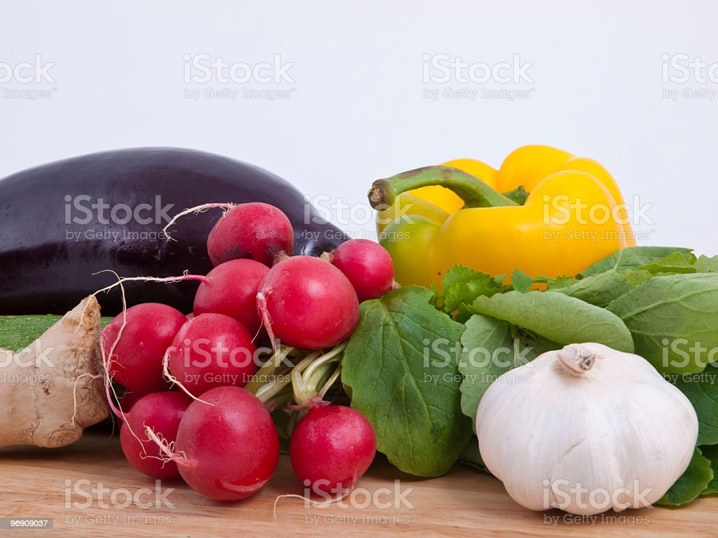 Colourful vegetable royalty-free stock photo