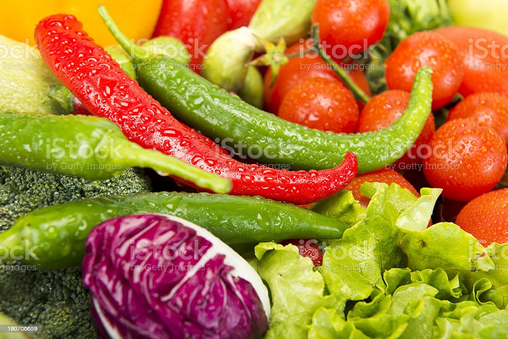 Colourful Vegetables 1 royalty-free stock photo