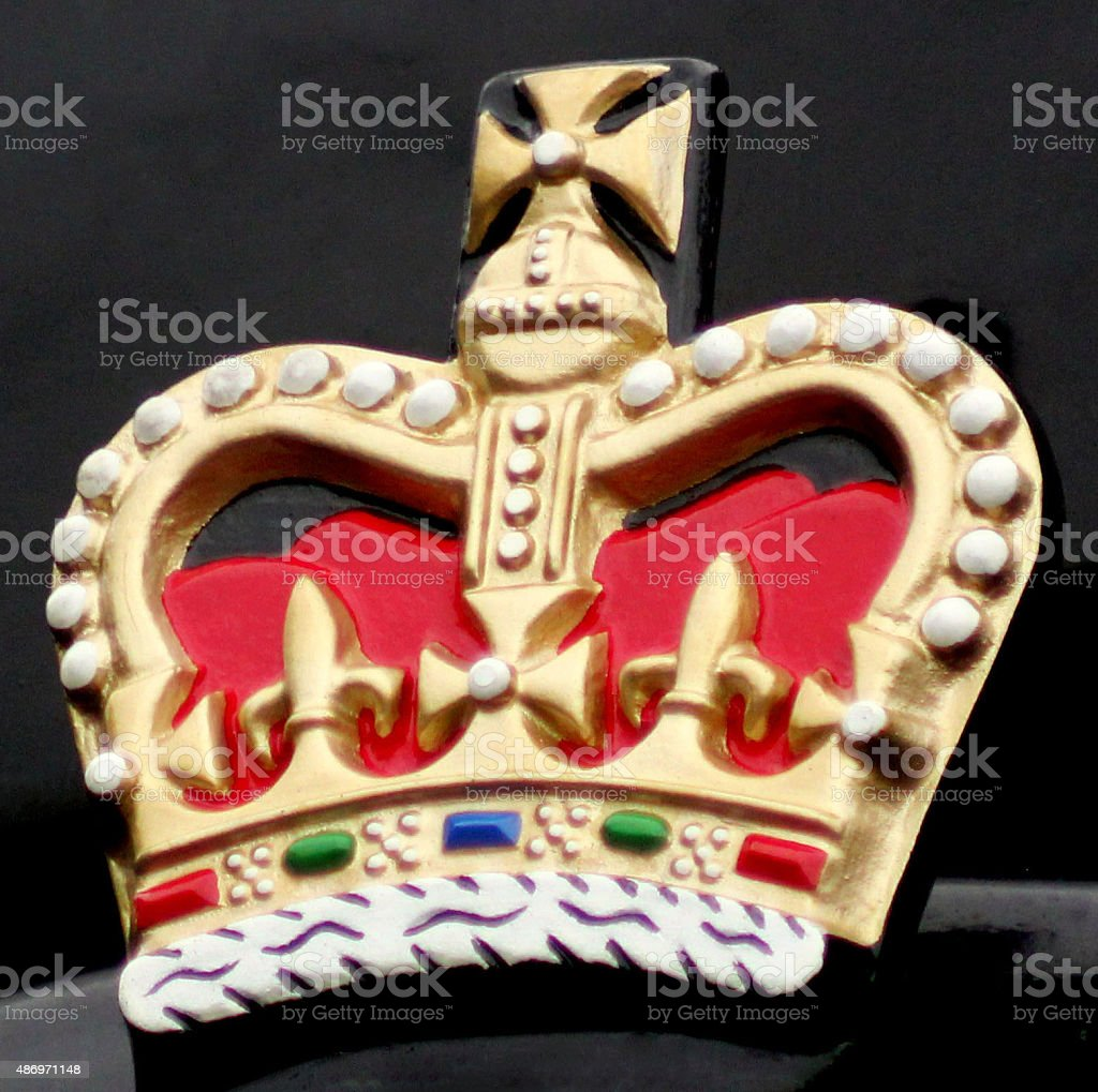 Colourfull Crown stock photo