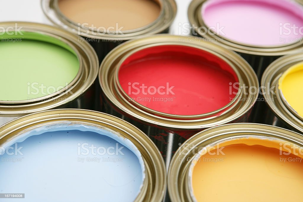 DIY Colours royalty-free stock photo