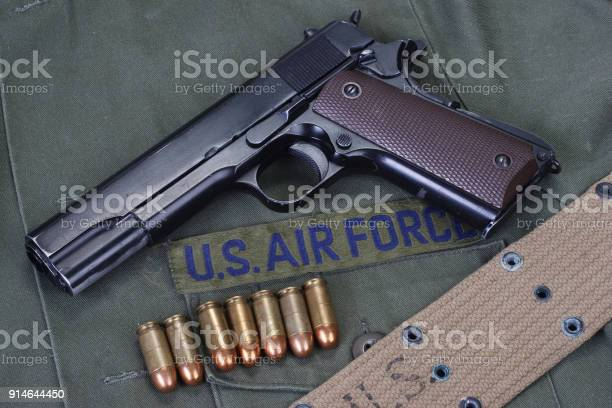 colt government M1911 with us air force uniform