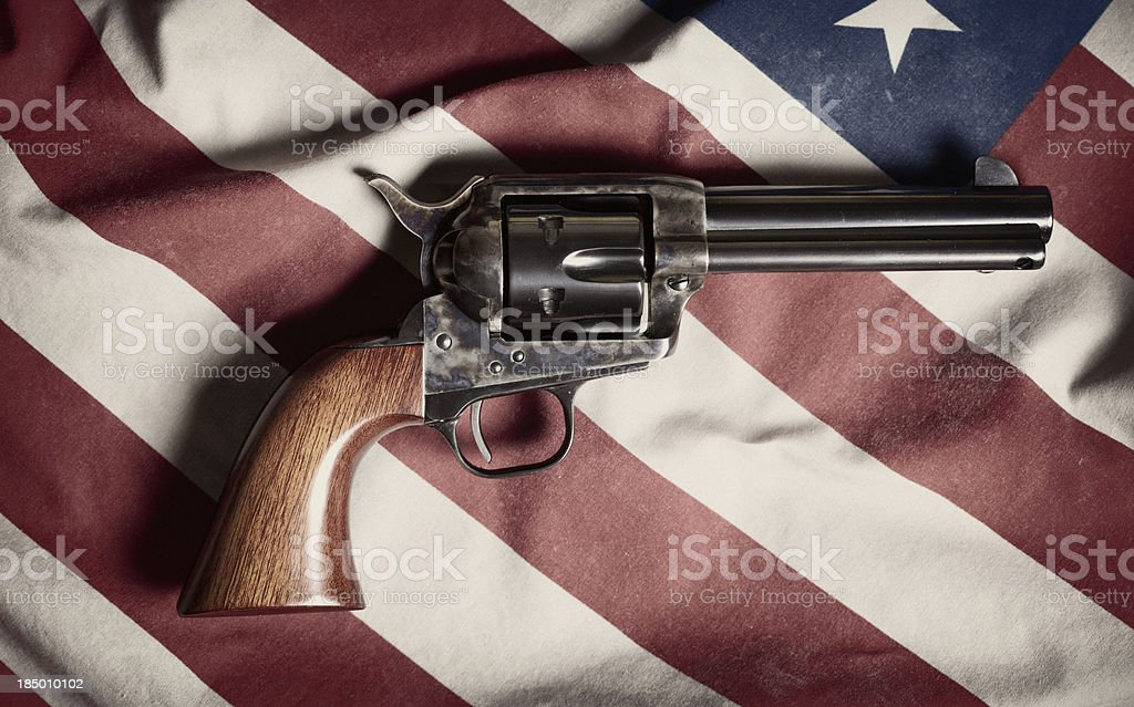 Colt Peacemaker royalty-free stock photo
